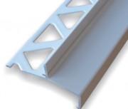 Balkonový ukončovací profil s okapničkou H11