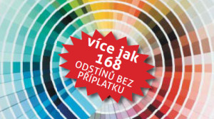 Nový vzorník barevných odstínů
