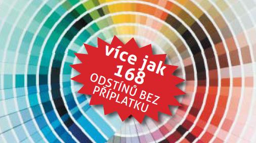 Nabízíme více jak 280 barev Neomezujte se! EXTHERM